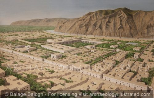Ai Khanoum (Alexandria on the Oxus) with the Amu Darya River, on the Border of Afghanistan and Tajikistan, 1st Century BC-AD - Archaeology Illustrated