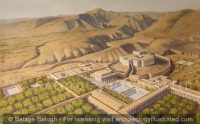 Jericho, The Hasmonean Dynasty's Palace Complex built by John Hyrcanus and his Son Alexander Jannaeus, 2nd-1st Centuries BC, with Balm Tree Plantations - Archaeology Illustrated