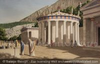Delphi, The Tholos in the Sanctuary of Athena, 4th century BC - Archaeology Illustrated