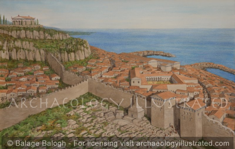 Assos in the 1st Century AD when Paul the Apostle Passed Through Here - Archaeology Illustrated