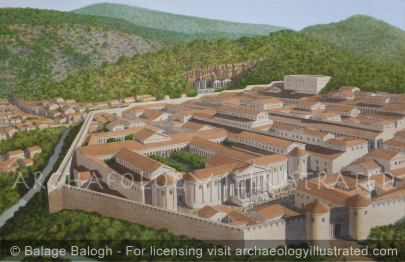 Banias – Caesarea_Philippi, and the Palace of Herod Agrippa II, Northern Israel, 1st century AD - Archaeology Illustrated
