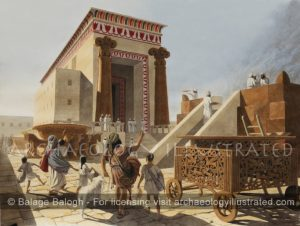 Jerusalem, Temple of Solomon, 10-7th centuries BC - Archaeology Illustrated