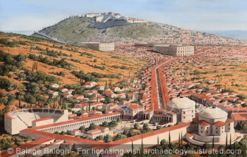 Pergamon, The Aesclepion, or Healing Center, Dream Therapy and Spa Rolled into One, 1st century AD - Archaeology Illustrated