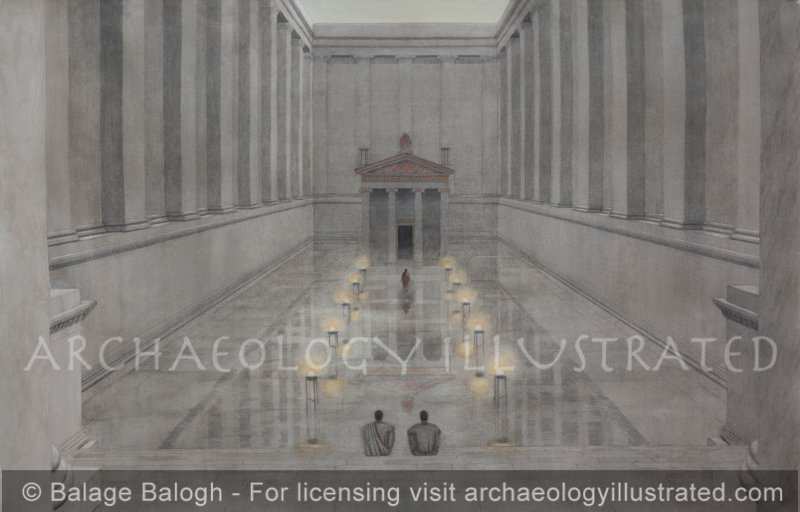 Didyma, The Temple and Oracle of Apollo. The Inner Court - Archaeology Illustrated