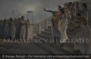 Dionysian Revelers at a Bacchanalia - Archaeology Illustrated