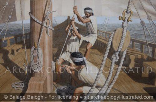 Greeks at Sea - Archaeology Illustrated