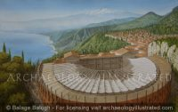 Taormina and its Theater in Sicily (Ancient Tauromenium) in the  Roman Period - Archaeology Illustrated