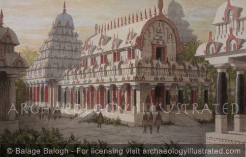 Ancient Indian Architecture, Recreating the Original Wood Structures Based on the Mahabalipuram Rock Carved Examples, 7th century AD - Archaeology Illustrated