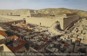 Jerusalem, The Temple Mount, and the Western Wall, 1st century AD - Archaeology Illustrated