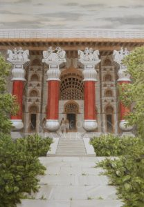 Recreating Ancient Indian Wood Architecture Based on the Rock Carved Bedse Caves, Kushan Period, 1-4th centuries AD - Archaeology Illustrated