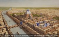 Babylon, The Tower of Babel, The E-Temen-Anki and The Temple of Marduk, 7th century BC - Archaeology Illustrated