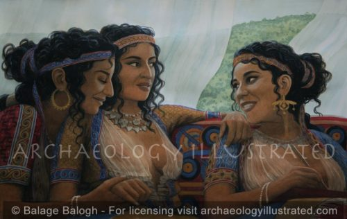 Ariadne's Story, From the Source, in the Palace of Knossos, the Island of Crete - Archaeology Illustrated