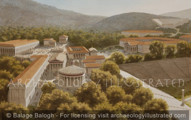 Epidauros, Greece, The Famed Healing Center of the Ancient World, 3rd Century BC - Archaeology Illustrated