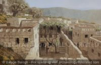 "Nazareth, Reconstruction of the Remains of a House under ""The Sisters of Nazareth Convent"" Proposed to be that of Jesus' Childhood Home - Archaeology Illustrated"