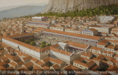 Priene, Western Turkey, Center of Town. An Ideal Greek Colony, Hellenistic period - Archaeology Illustrated