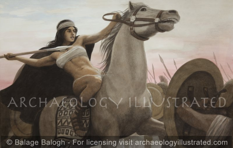 The Amazon and the Greeks - Archaeology Illustrated