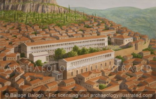 Assos, The Agora and City Center, Hellenistic and Roman Periods, Western Turkey - Archaeology Illustrated
