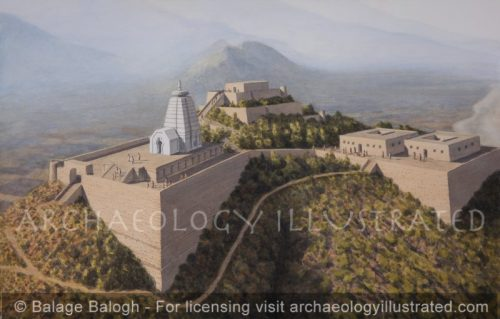 Barikot, The Acropolis, in the Swat Valley in Northern Pakistan, 3rd-7th century AD (Created with Dr. Luca Maria Olivieri) - Archaeology Illustrated