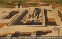 Jerusalem, the Temple of Solomon, Looking West - Archaeology Illustrated