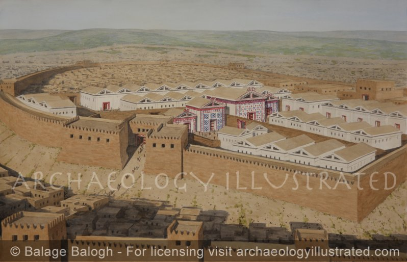 The Citadel of Gordion, Capital of Phrygia, Royal Megaron Buildings and Weaving Workshops, Central Anatolia, Early Phrygian Period (950-800 BC) - Archaeology Illustrated