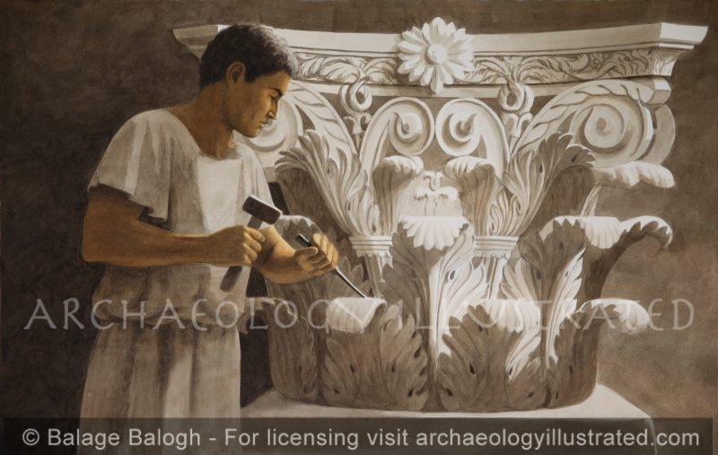 The Stone Mason - Archaeology Illustrated