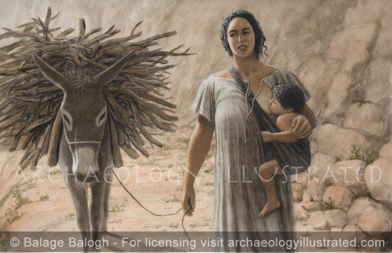 Miriam Umm Yehoshua - Archaeology Illustrated