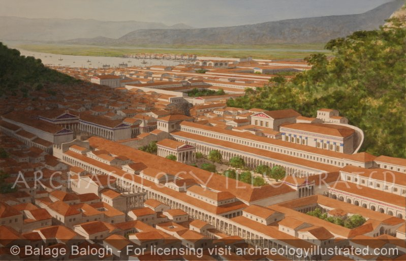 Ephesus, Upper (Roman) Agora with the Temple of Domitian, Bouleterion (or Odeon) and Temple of Julius Caesar and Rome - Archaeology Illustrated