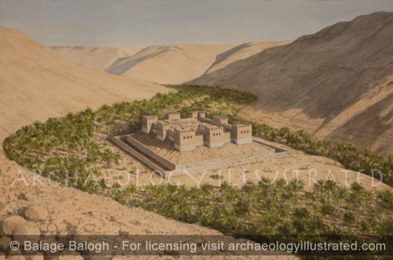 Kadesh Barnea, a Fortified Way Station on the Copper Trade Road through the Sinai, 9th-7th centuries BC - Archaeology Illustrated