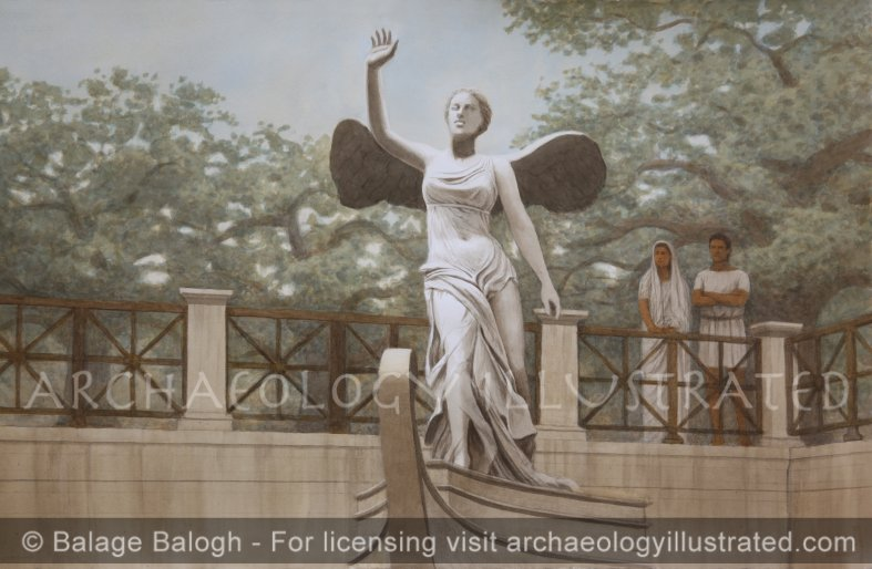 Nike of Samothrace in Context, 2nd Century BC - Archaeology Illustrated