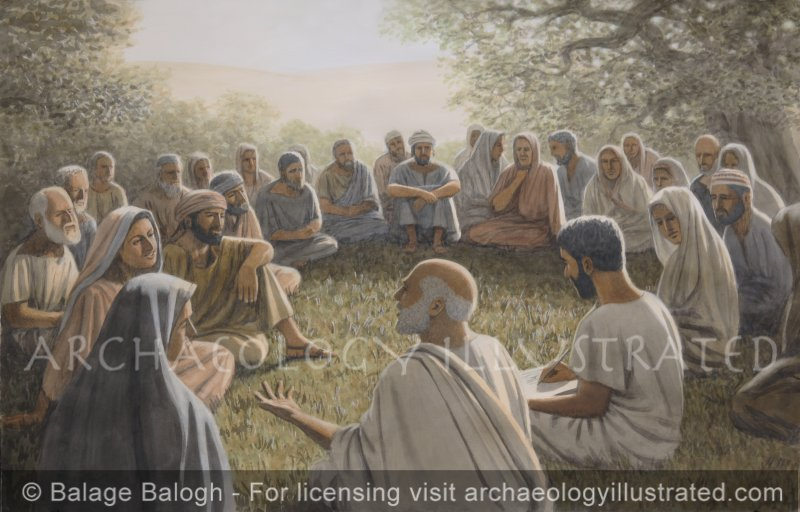 Paul the Apostle Teaching - Archaeology Illustrated