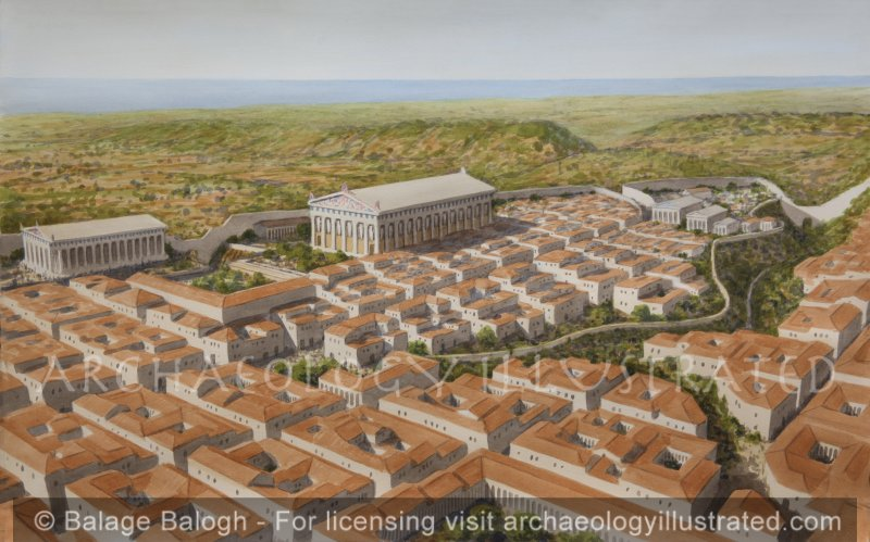 The Greek Settlement of Akragas, today's Agrigento, Sicily, a leading city of Magna Graecia - Archaeology Illustrated
